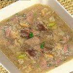 冬菜鸭肝汤