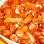 番茄烩鸭腰