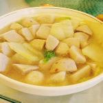 白菜烧芋头