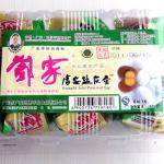 邓家广安盐皮蛋360克6枚简装 广安特产