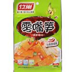 竹巢零嘴笋竹 香辣味笋片45g